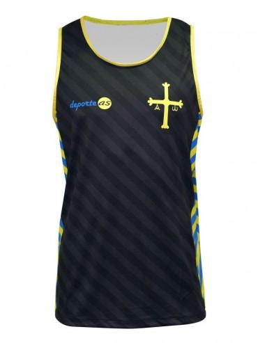 Camiseta Running Asturias sin mangas
