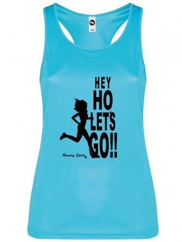 Camiseta Mujer tirantes HE HO LET'S GO