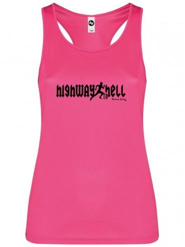 Camiseta Mujer tirantes highway to hell