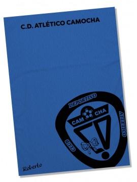 Toalla Microfibra C.D. Atletico Camocha personalizada