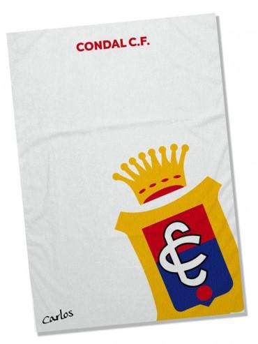 Toalla Microfibra Condal C.F. personalizada