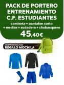 Pack portero C.F. Estudiantes