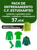 Pack entrenamiento C.F. Estudiantes