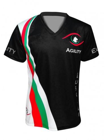 Camiseta con nombre mc Agility Euskadi
