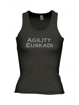 Camiseta tirantes Agility Euskadi