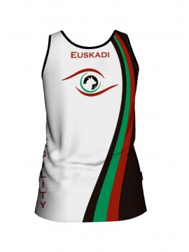 Camiseta técnica sin mangas Agility Euskadi