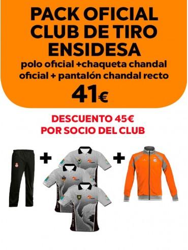 Pack oficial Club de Tiro Ensidesa