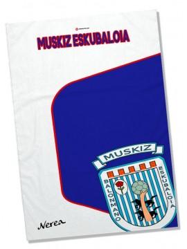 Toalla Microfibra C.B. MUSKIZ, con nombre
