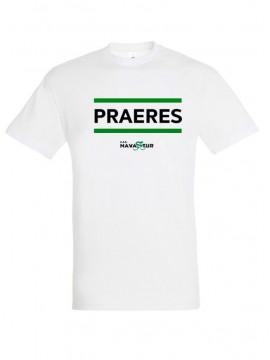 Camiseta Praeres Blanca