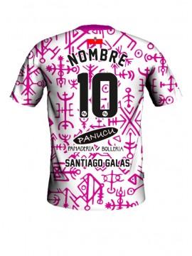 Camiseta juego Santiago Galas 2ª equipación