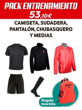 Pack entrenamiento Santiago Galas