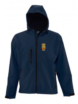 Softshell oficial con capucha E.F. Nava