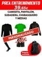 Pack entrenamiento C.D. Ugao