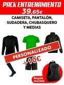 Pack personalizado entrenamiento C.D. Ugao