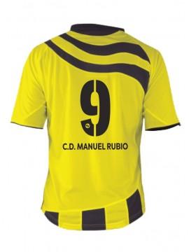 Camiseta juego Manuel Rubio 1ª equipación