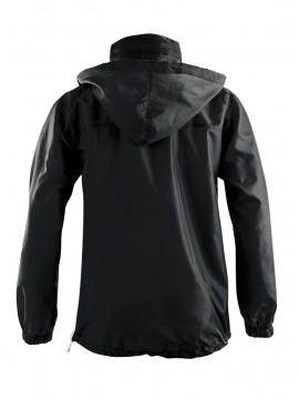 Chubasquero negro Textil Escudo