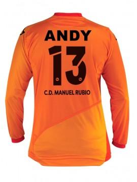Camiseta Portero Juego 2ª C.D. Manuel Rubio
