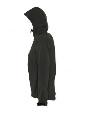 Softshell oficial mujer con capucha C.D. Ugao