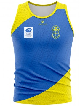 Camiseta sin mangas Federación Atletismo Principado de Asturias