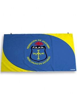 Bandera grada sublimada FAPA