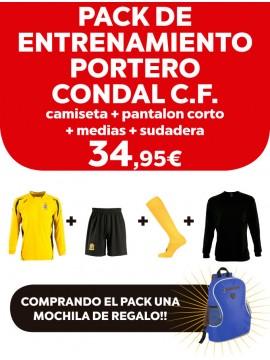 Pack entrenamiento portero Condal C.F.