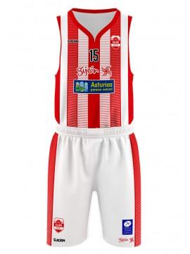 Camiseta Gijón Basket 1ª equipación Base